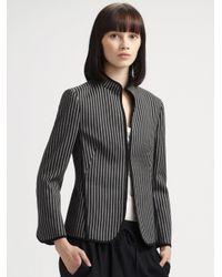 Akris Punto Black Wool Jacket