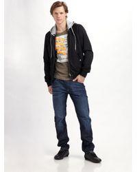 DIESEL Blue Darron Straightleg Jeans for men