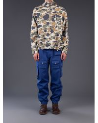 General Idea - Green Camo Pullover Jacket for Men - Lyst