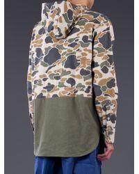 General Idea - Green Camo Pullover Jacket for Men - Lyst