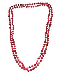 Dosa - Pink Channa Beads Necklace - Lyst