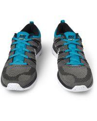 Nike - Blue Flyknit Lunar 1 Sneakers for Men - Lyst