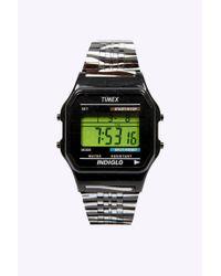 Timex Black 80 Zebra Metal Digital Watch for men