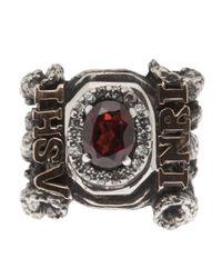KD2024 Metallic Inri Ring