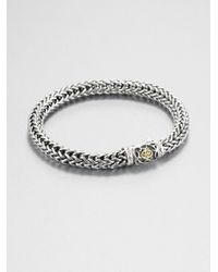 Scott Kay | Metallic Sterling Silver Doberman Bracelet for Men | Lyst
