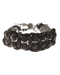 Emanuele Bicocchi | Black Onyx Bracelet | Lyst