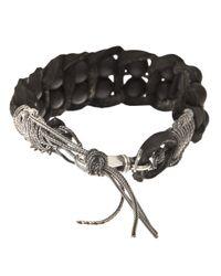 Emanuele Bicocchi - Black Onyx Bracelet - Lyst