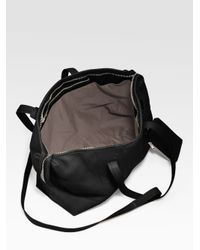 Rick Owens - Black Large East/west Leather Tote - Lyst