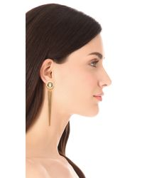 Citrine by the Stones - Metallic Luz Pua Earrings - Lyst