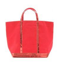 Vanessa Bruno Red Cabas Large Shopper