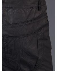 DRKSHDW by Rick Owens Black Berlin Cut Trouser for men