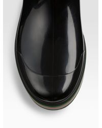 Gucci | Black Rain Boot for Men | Lyst