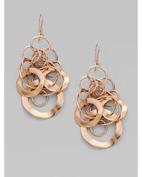 Ippolita - Metallic Rose Link Earrings - Lyst