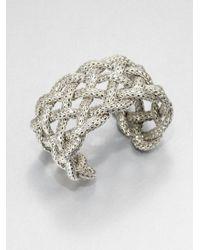John Hardy | Metallic Sterling Silver Braided Bracelet | Lyst