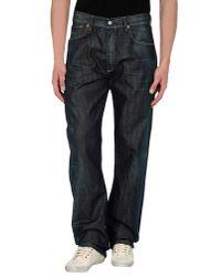 Levi's Blue Denim Pants for men
