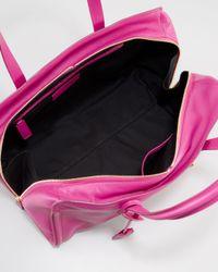 Alexander McQueen - Pink New Padlock Medium Satchel Bag - Lyst