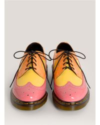 Dr. Martens Multicolor 3989 Contrast Patent Lace-ups