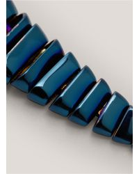 Eddie Borgo - Blue Scaled Serpent Earrings - Lyst