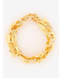 Eddie Borgo | Metallic Helix Link Bracelet | Lyst