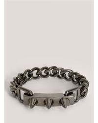 Eddie Borgo - Metallic Flip Latch Bracelet - Lyst