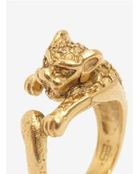 Ela Stone - Metallic Brass Lion Ring - Lyst