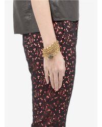 Ela Stone | Multicolor Multi-chain Stone Bracelet | Lyst