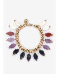 Ela Stone - Multicolor Multi-colour Stone Bracelet - Lyst