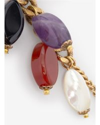 Ela Stone | Multicolor Multi-coloured Chain Earrings | Lyst