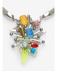 Erickson Beamon - Metallic Multi-coloured Crystal Necklace - Lyst