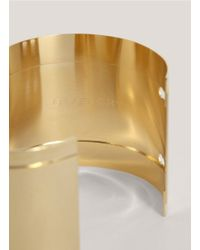 Givenchy - Metallic Metal Bracelet - Lyst