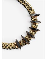 Iosselliani | Metallic Deco Chain Necklace | Lyst