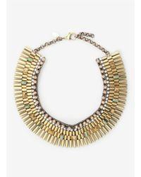 Iosselliani | Metallic Embellished Necklace | Lyst