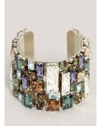 Philippe Audibert - Multicolor Large-stones Cuff - Lyst