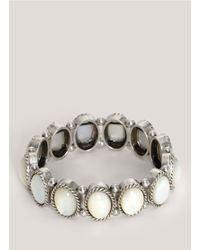 Philippe Audibert | White Large Mother Of Pearl Bracelet | Lyst
