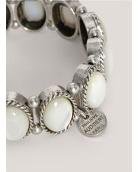 Philippe Audibert | White Large Mother Of Pearl Bracelet | Lyst