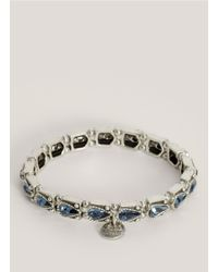Philippe Audibert - Metallic Tear Drop Stone Bracelet - Lyst