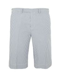 Polo Ralph Lauren - Blue Suffield Seersucker Shorts for Men - Lyst