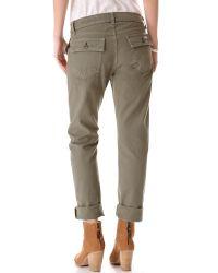 Rag & Bone Gray Brigade Pants
