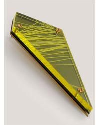 Sarah Angold Studio | Yellow Munitio Acrylic Earrings | Lyst