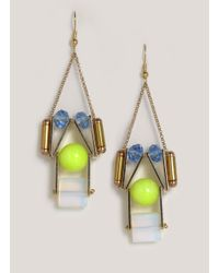 Scho - Blue Lemon Cake Earrings - Lyst