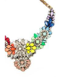 Shourouk Multicolor Apolonia Rainbow Necklace