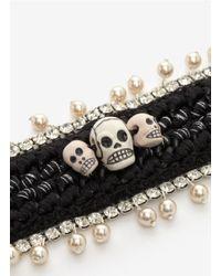 Venessa Arizaga | Black 'london Calling' Bracelet | Lyst