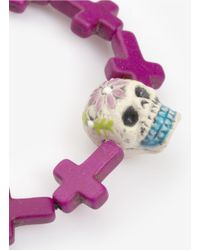 Venessa Arizaga - Purple 'oh Darling' Bracelet - Lyst