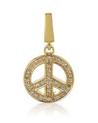 Astley Clarke | Metallic Peace Charm | Lyst