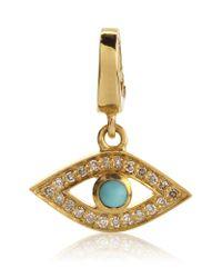 Astley Clarke | Metallic Evil Eye Charm | Lyst