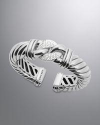 David Yurman | Metallic Metro Cable Bracelet | Lyst