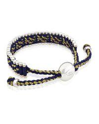 Links of London | Blue Harrods Friendship Bracelet | Lyst