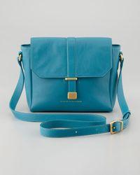 Marc By Marc Jacobs Blue Natural Selection Mini Messenger Bag Teal