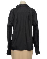 Ring Black Long Sleeve Shirt
