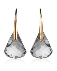 Swarovski | Metallic Luna Blush Crystal Earrings | Lyst